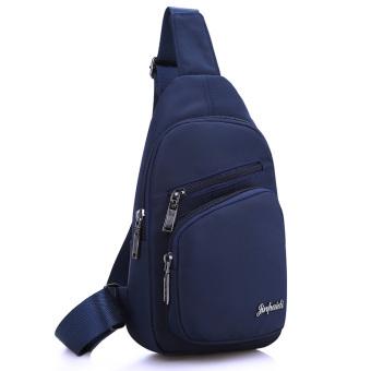 Kebugaran Jepang dan Korea Selatan warna solid baru tas bahu kecil Messenger tas tas dada (