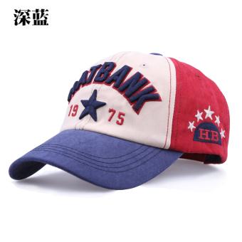 Topi Pelindung Sinar Matahari Korea Fashion Style Perempuan Topi Baseball Luar Rumah Laki-laki (