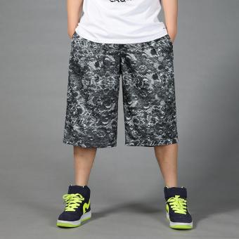 Musim panas Gemuk Olah Raga celana sedang Berlari celana kebugaran cepat kering bola basket celana pendek
