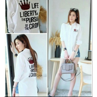 Kedai baju blouse wanita murah berkualitas / blouse murah / blouse liberty - O