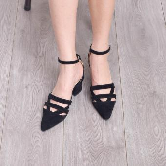 Bebbishoes-Carrie Heels-Black