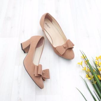 Bebbishoes-Ribbon Mess Heels-Cream .