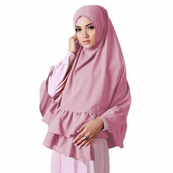Sabrina 3 Layer Hijab - Light Grey. Source · Khimar Aisyah1 Hijab .