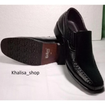 Kickers Sepatu Pria Kulit Asli Model KR 809 Black