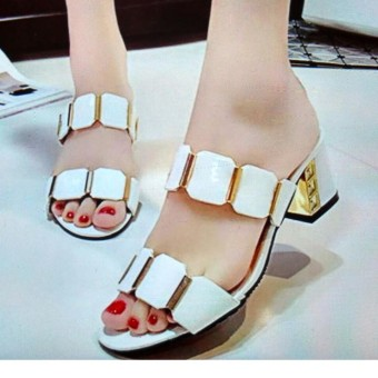 ... R2paris Mini Heels Simply Dirly Hitam Daftar Update Harga Source R2Paris Midi Heels Source