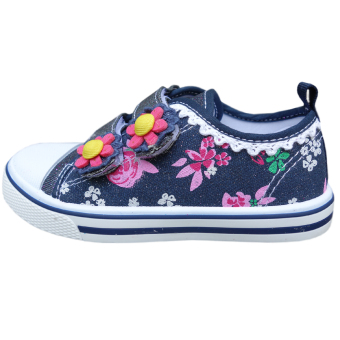 Bandingkan Toko Kipper Type KP-103 sepatu anak perempuan slip on - Hitam harga baru