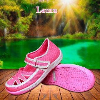 Kipper Type Laura Sandal Anak Perempuan - Merah Muda ...