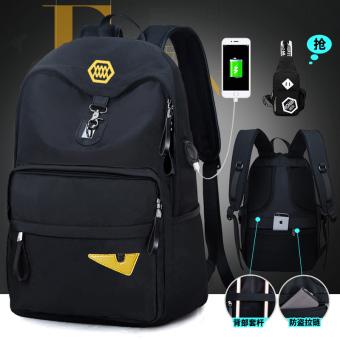 Korea Fashion Style laki-laki SMP dan siswa SMA tas tas ransel (Versi upgrade