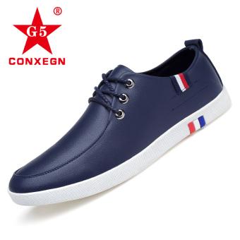 Korea Fashion Style lembut bawah laki-laki muda sepatu pria baru sepatu kasual (Model