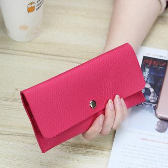 Gaya Korea Dari Kartu Dompet Mahasiswa Dompet Baru (Merah Mawar)