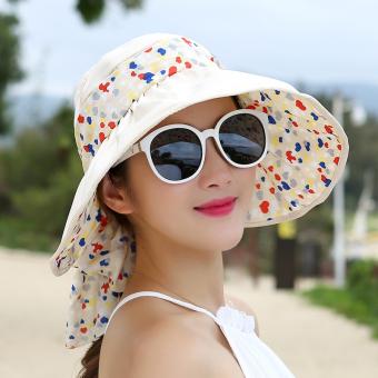 Korea Gaya Busana Wanita Musim Semi atau Musim Panas Hari Pelindung Norbert Matahari  Topi Matahari Topi 34e7ca66d4