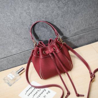 Cek Harga Baru Persegi Kecil Korea Fashion Style Beludru Baru Gesper ... 3f3052e60d