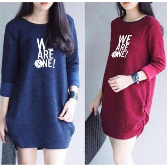 Labelledesign DONELLA PRINTED WEAREONE - MAROON