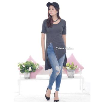 ZOEFASHION Victoria Basic - DarkGrey