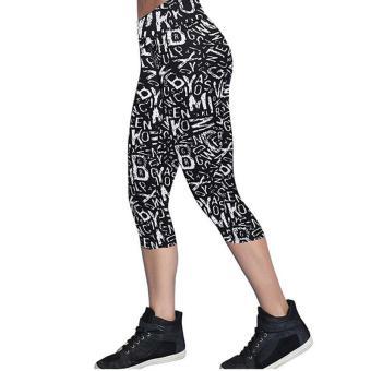 LALANG Latihan Legging Pants Bang Pendek Olahraga Peregangan Kebugaran 56 #
