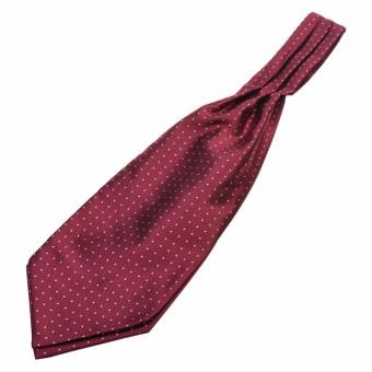 Lightning Power-Mens Polka Dot Woven Silk Tie Cravat Necktie Scarf Ascot Decoration clothing accessories - intl ...
