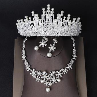 Manis pengantin wanita DANISA Asesoris kepala 2018 model baru Gaun pengantin Kalung Aksesoris super elegan suasana