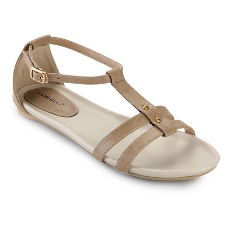 marelli flat sandal sepatu wanita iy 002