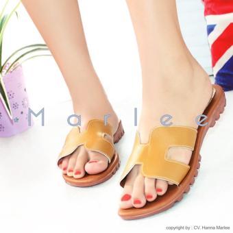 Marlee DN-18 Sandal Santai Wanita - Kunyit