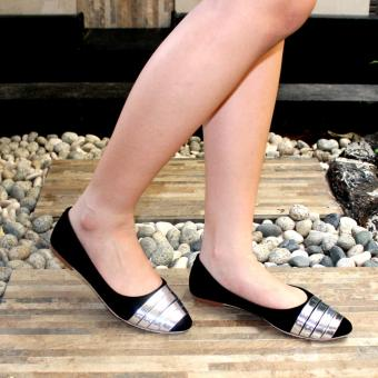 Marlee Flat Shoes IWN-03 Hitam