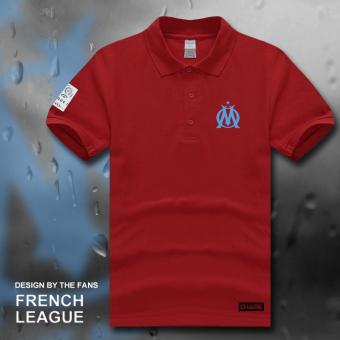 ... olahraga kerah kemeja POLO jersey (Polo hijau muda bintik matahari). Source ... musim panas lengan pendek t -shirt (. Source · Marseille sepak .