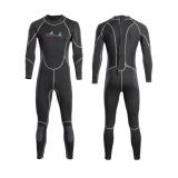 ... Men 2MM Wetsuit Diving Suit Long Sleeve Full Body Swimming Surfing Scuba M - intl ...