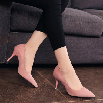 Sepatu Wanita Korea Fashion Style Musim Panas Sepatu Seksi Hak Tipis 01f2dc8643