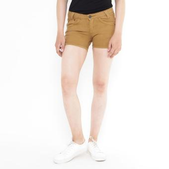 Short Pants Brown Mobile Power Ladies Basic - F5515