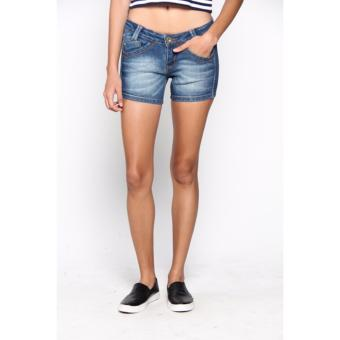 Short Pants Jeans Blue Mobile Power Ladies - H5528