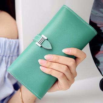 Montana Dompet Wanita Pastel Series PU Leather Wallet - Hijau Tosca
