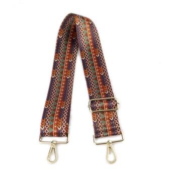 More584 Strap You Adjustable Kanvas Bohemian A - Strapyou - Strap Bag - Tali Tas Lebar