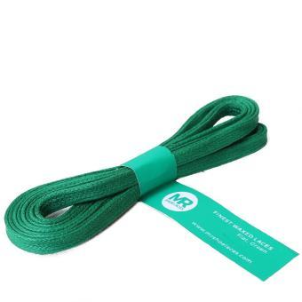 Mr. Sholeaces - Tali Sepatu Lilin Gepeng 6-7mm - Hijau (Green)