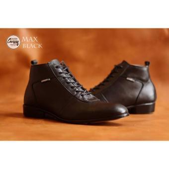MRJ Sepatu Brodo Formal Business Leather man's - mens shoes Formal