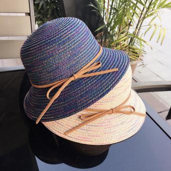 Musim semi dan musim panas pantai Cooljie orangtua-anak topi anak topi  jerami (Semua e19b333376