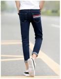 Baru 9 Poin Jeans Pria Besar Ukuran Celana Korea-Internasional - 5