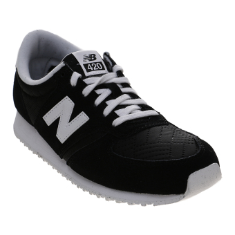 New Balance Women's Lifestyle 420 Casual Shoes - Hitam-Putih