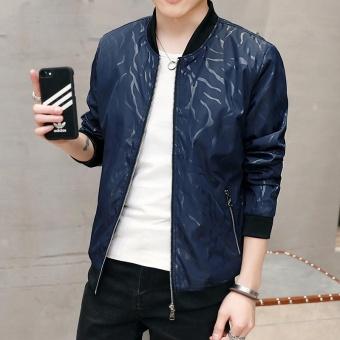 Pria Baru Jacket Spring Tide Versi Korea Kenyamanan Pemuda Mantel Ganteng Pria Budidaya Diri Pria Pakaian