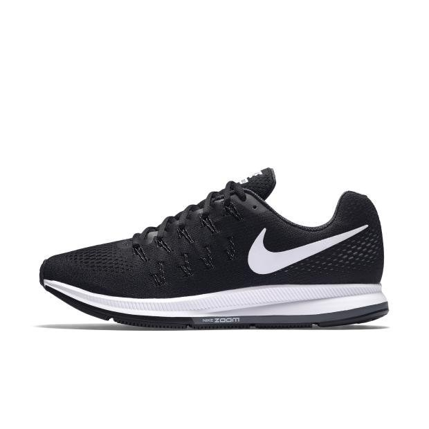 NIKE MEN AIR ZOOM PEGASUS 33 RUNNING SHOE BLACK 831352-001 US7-11 11' - intl