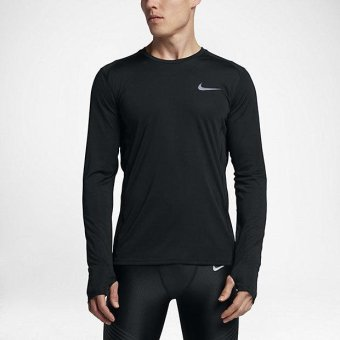 NIKE MEN DRY MILER TOP BLACK 833594-010 S-2XL 01' - intl