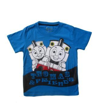 OBRAL ! Harga Promo Kaos Anak Karakter Thomas - Biru