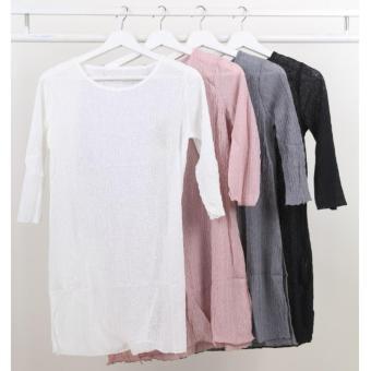 Oma Fashion Blouse Kerut Trendy - 4 Warna - SIze