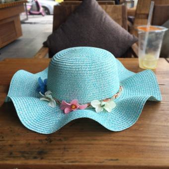 ... Topi Bisbol Pelindung Terik. Source ... bayi perempuan anak TK. Source  · Pantai matahari perlindungan tepi gelombang bunga . 4049e972e9