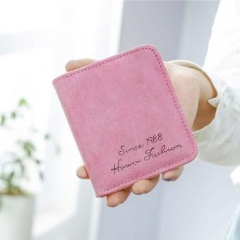 Perempuan lulur siswa lucu nol dompet dompet kecil (Mawar merah)