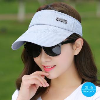 Kelebihan Perempuan Musim Panas Topi Caddy Topi Hitam Sports Topi ... f2a226935b