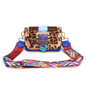 Persegi kecil Korea Fashion Style Serpentine musim semi dan musim gugur bahu baru Messenger tas tas