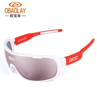 Terpolarisasi Bersepeda Kacamata 5 Lensa Kacamata UV 400 MTB Sepeda Olahraga  -Internasional 8fe24eeb84