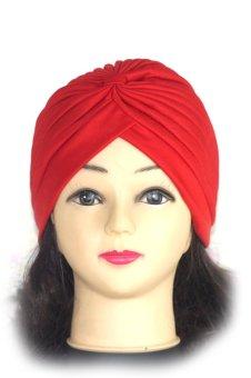 Sorban Polister Hat Topi Matahari Merah