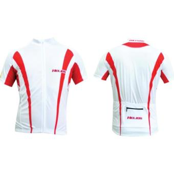 Polygon Jersey Helios Short Sleeves - Putih Merah