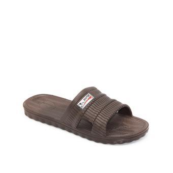 Porto Sandal Pria Paylon Empuk Murah 1008 - Brown Size 40-44