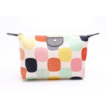 Allunique Pouch Tas Kosmetik Bag - Kotak Warna Warni